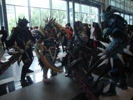 AFA Singapore 2013: Monster Hunters Quest Clear by DragonicHeaven