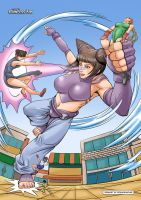 GTS Juri's Wrath by giantess-fan-comics