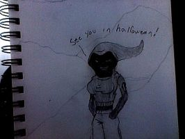 Hallow will be watching. by freeman2600