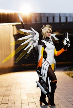 Angela Ziegler - Overwatch by Shappi