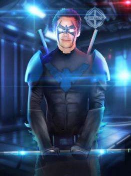 Nightwing (Dylan O'Brian) - Wallpaper - CtheBeast by cthebeast123