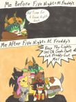 Before and After FNAF by Aurora-ASB