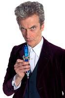 12th Doctor With New Sonic Screwdriver Render #5 by PietroRock