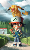 Updated Asho Ketchumo by Skence