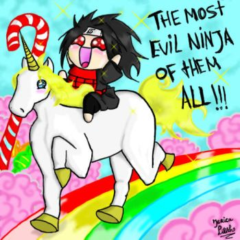 Madara and the Unicorn by JericaLilith