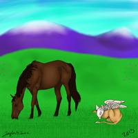 HorseIsle Competition Art by TayMay135