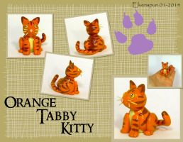 Orange Tabby Kitty by MalaCembra