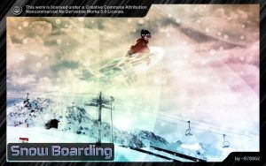 Snow Boarding Wallpaper Pack by 878952