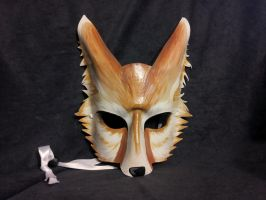 Fennec Fox Leather Mask by Jedi-With-Wings