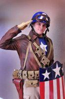 The First Avenger by Starkiller-Cosplay