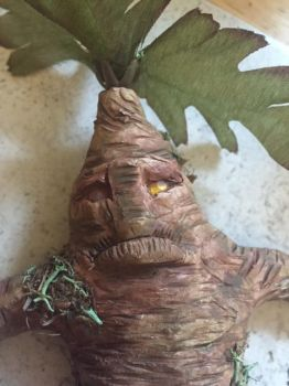 Amber Eyes Mandrake Root Face by CosmicGrove