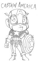 Cpt America 1 by Chibikaos