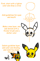 How to Draw Pikachu by pikagirl25
