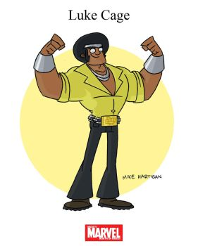 Mighty Marvel Month of March - Luke Cage by tyrannus