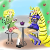 Tea Time for Ojous by DoodleDowd