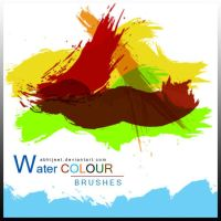 photoshop Water Colours brushes by vnnexpress