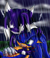 Sonic Symboite Drawing Two by Chicaaaaa