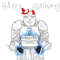 A Republic Issued Happy Birthday to Zennore. by MaysJedi