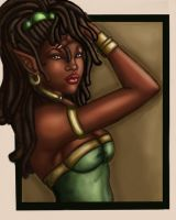 Nubian elf by ebony-chan