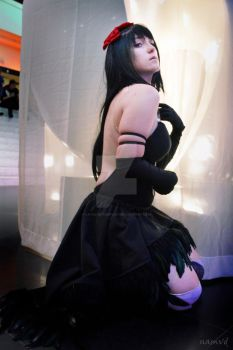 Devil Homura - PMMM p.1 by Catulus-Cosplay