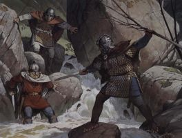Romano British vs Saxon by Fall3NAiRBoRnE