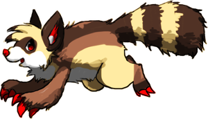 Monster racoon doom by Pand-ASS