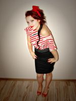 Pin Up Girl by Klaudiqa-scarry-doll