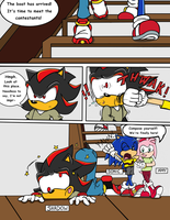 Sonic Survivor Island - Pg.2: Arrival by SDCharm