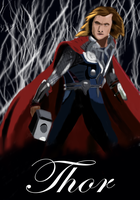 AVENGERS: Thor by Bloodfire09
