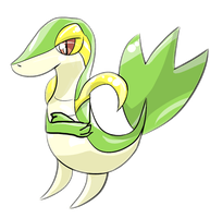 Tsutaja Grass Starter 5th Gen by Eternalskyy