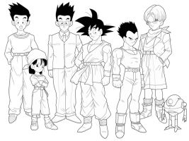 Dragon Ball GT 2nd preview by drozdoo