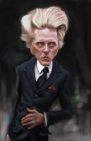 Christopher Walken by DoodleArtStudios