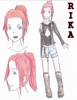 Rika Character Sheet by CrypticGrin
