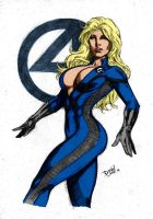 Invisible Woman By Dlimaart by Kenkira