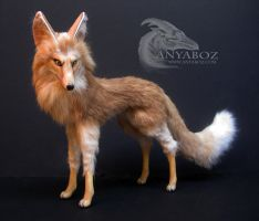 Sahara the Fennec Fox Room Guardian by AnyaBoz