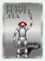Flash Robot Puppet by brianmccumber