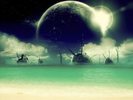 Another World : Shell World by anderton