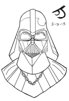 Vader (unfinished) by DinomanInc