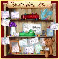 AE- Sketche's Cluttered Closet by Nyrietta