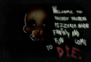 Welcome to Freddy Fazbear's by Maria-Ben