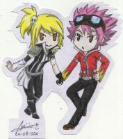 edolas natsu and lucy by fullb0dy