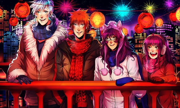 Happy New Year! | SPEEDPAINT by AgentWhiteHawk