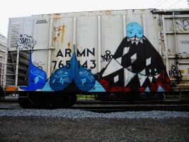 Box Car Art by BuzzyG