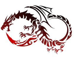 Dragon Tattoo by IMInfinity