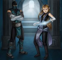 The Ninja and the Princess... by Filiana