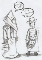 ...HALLOWEEN AT SILENT HILL... by fredvoorhees