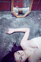 Self-hatred IV by scaret