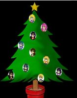 a senshi christmas tree by Pisces1090