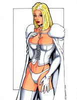 White Queen 2008 by ericborc