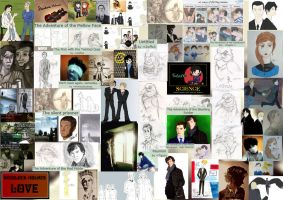 Share the Sherlock Love Collage by Tigzzz
